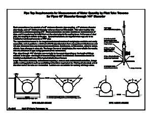 "Pipe Tap Requirements (48"" — 144"" diameter)"
