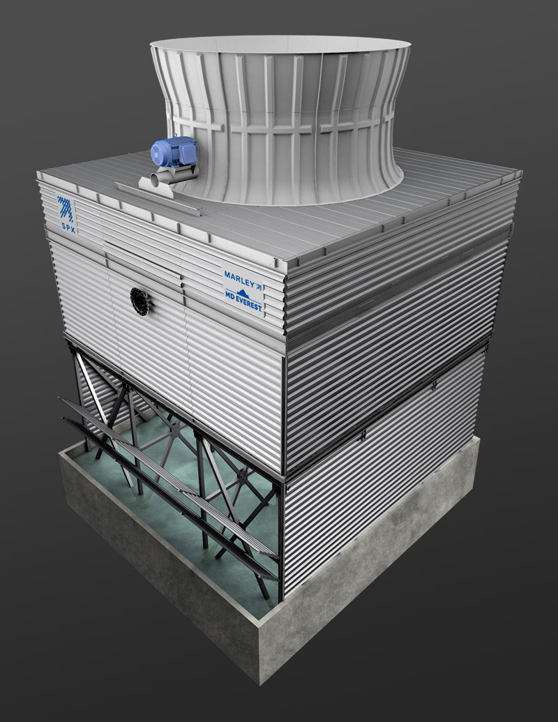 Marley MD Everest Cooling Tower 1