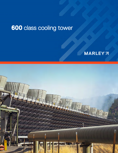 Class 600 Crossflow Cooling Tower