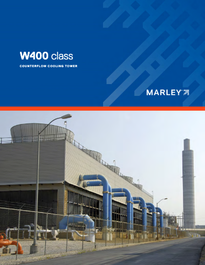 Class W400 Cooling Tower