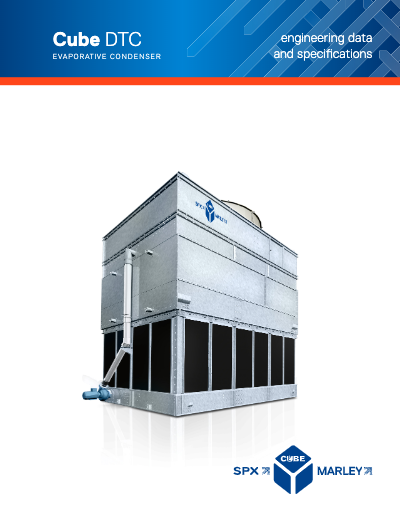 Cube DTC Evap Condenser Engineering Data and Specifications