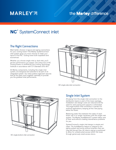 The Marley Difference – SystemConnect Inlet