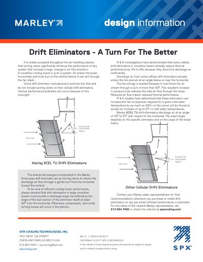 Service Information – Drift Eliminators (A Turn For The Better)