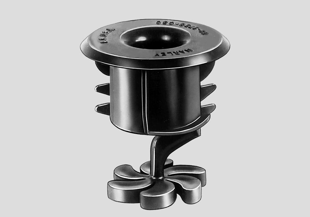 Spiral-Target Crossflow Nozzle