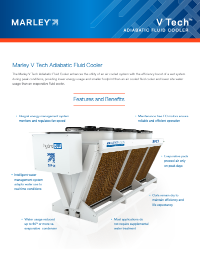 Marley V Tech Adiabatic Fluid Cooler