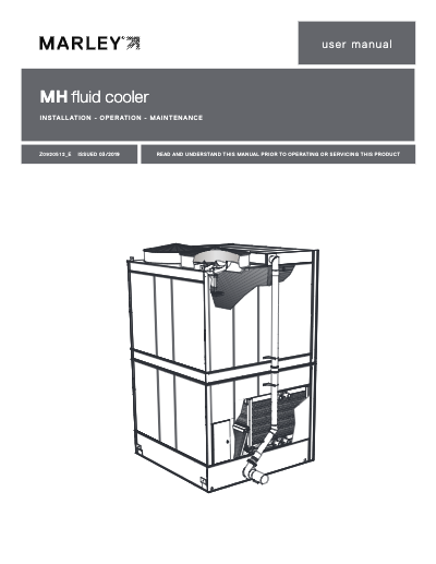 MH Fluid Cooler User Manual
