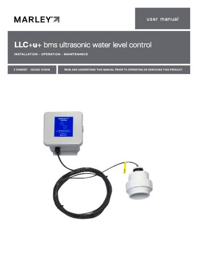 LLC+u bms ultrasonic water level control User Manual