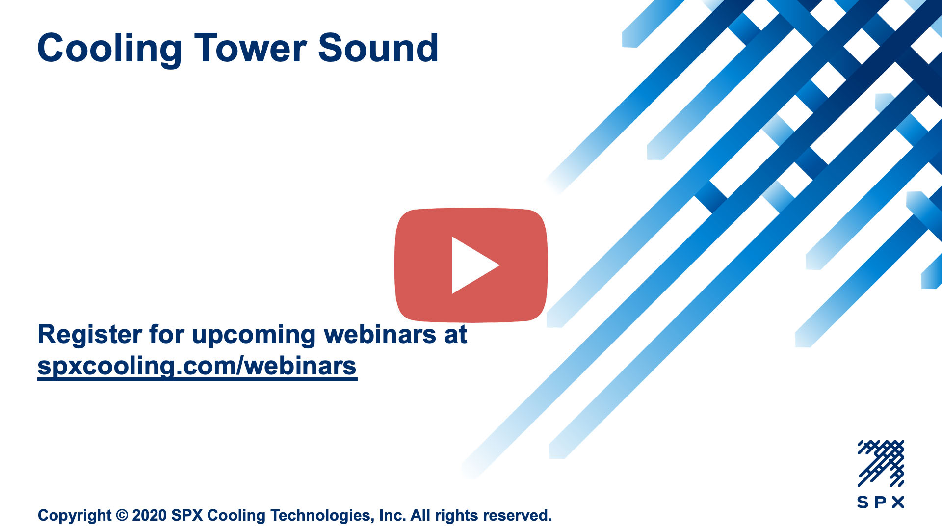 Cooling Tower Sound